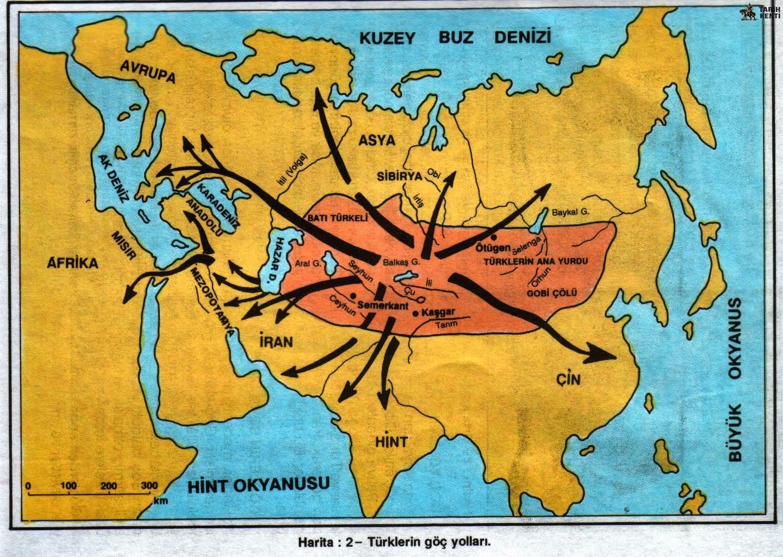 İlk Türk Devletleri Hangileridir? Türklerin Anayurdu Neresidir?